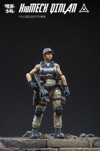 Image 2 - JOYTOY figurine soldats, QINLAN et robot MECH, cadeau, livraison gratuite, 1/25