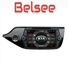 Belsee Android 8.0 Auto Head Unit Auto Radio Multimedia Player GPS Navigatie Octa Core PX5 4 GB Ram voor Kia ceed 2013 2014 2015(China)
