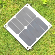 New 10W 5V High Quality Solar Panel Charger Portable Solar Cell Charger Sunpower 275*270mm High Quality 5PCS/Lot Free Shipping