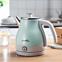 304 Stainless Steel Electric Kettle One button insulation 1000W Household 220V Quick Heating Electric Boiler Water Travel kettle
