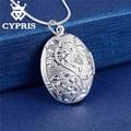 Venda melhor venda de moda de prata pingente de coração placa medalhão oval charme colar 13 estilos bom e barato preço de atacado cypris