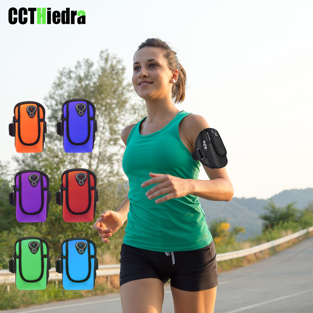 Smart Sport Running Gym Armband Jogging Phone Bags Universal Outdoor Phone Armband For Samsung Galaxy S9 S8 S7 S6 S5 S4 S3 A5 A3 J3 J5 Meticulous Dyeing Processes