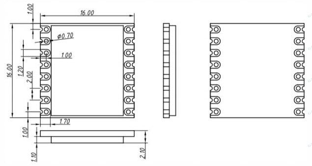 FCC certified dBm 4Km-6Km 8