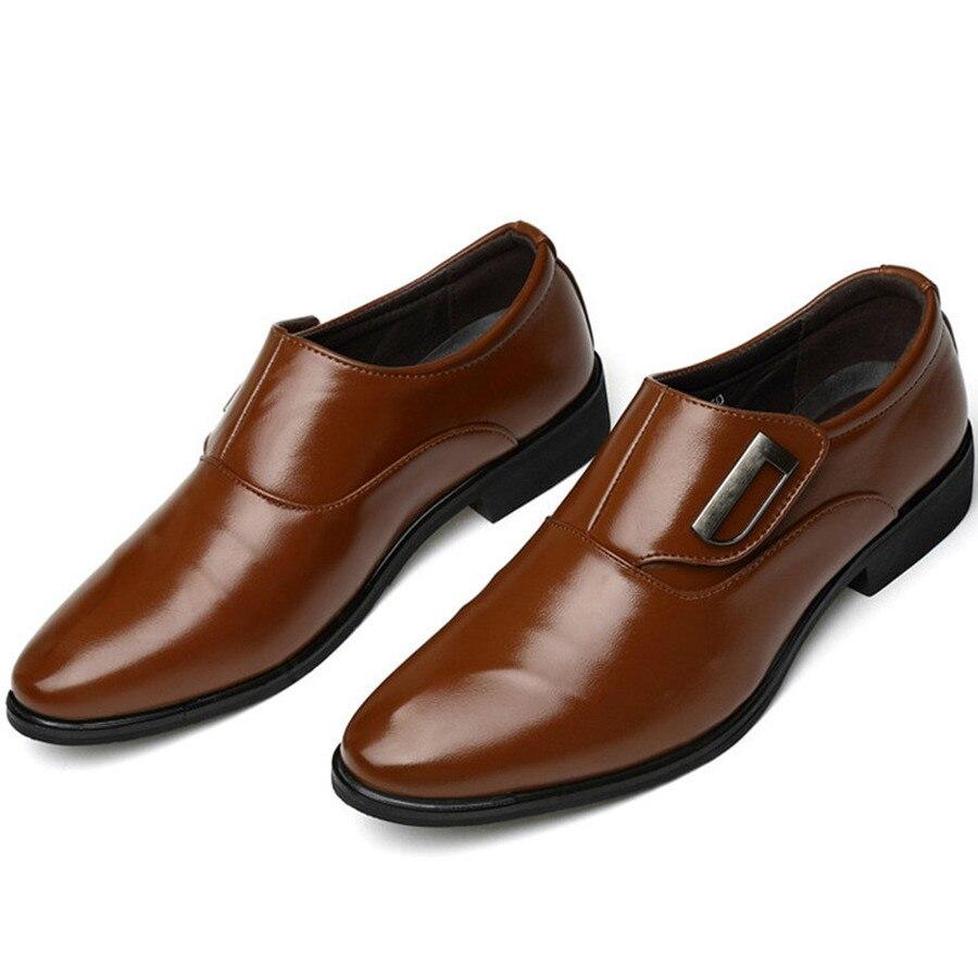 Image 3 - Dwayne/Роскошная брендовая мужская обувь; английский тренд; кожаная обувь для отдыха; дышащая мужская обувь; лоферы; мужская обувь на плоской подошве; большие размеры 37 48-in Мужская повседневная обувь from Обувь