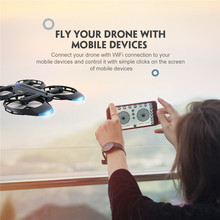 JJRC H45 font b RC b font Drone With Camera Foldable Selfie Drones 720P Camera WiFi