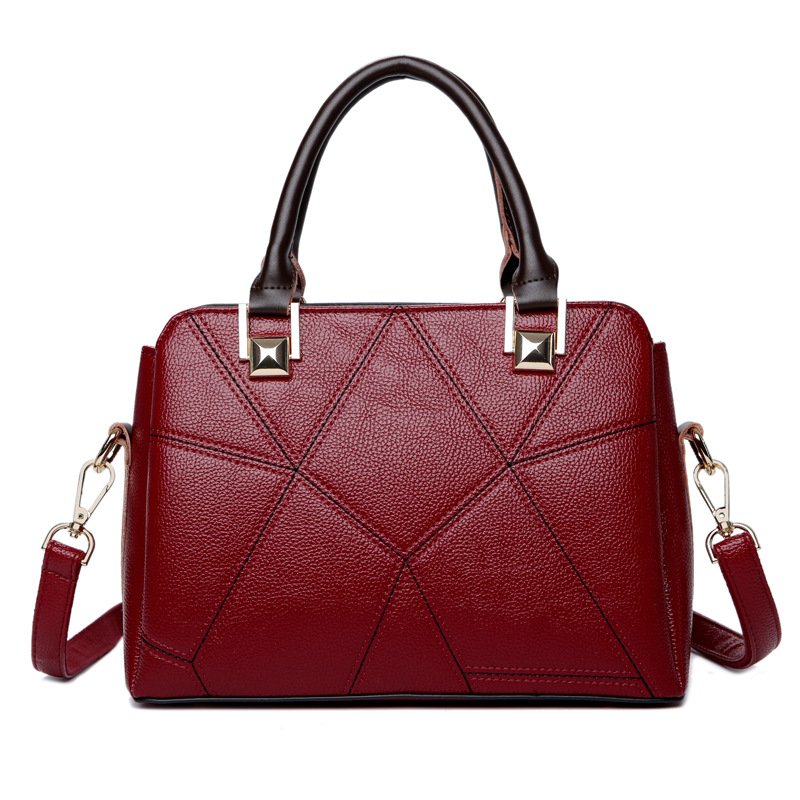 Brand Luxury Genuine Leather Handbags Women Bags Designer New Fashion handbags Casual Messenger Bag Large Capacity Shoulder bags luxury handbags women bags designer red genuine leather tassel messenger bag fashion extra large casual tote zipper shoulder bag page 4