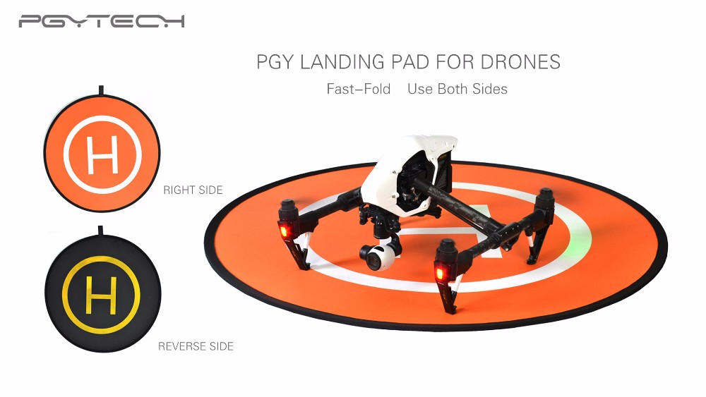 PGY Fast-fold landing pad helipad protective RC Drone gimbal Quadcopter Helicopter parts DJI phantom 2 3 4 inspire 1 Accessories
