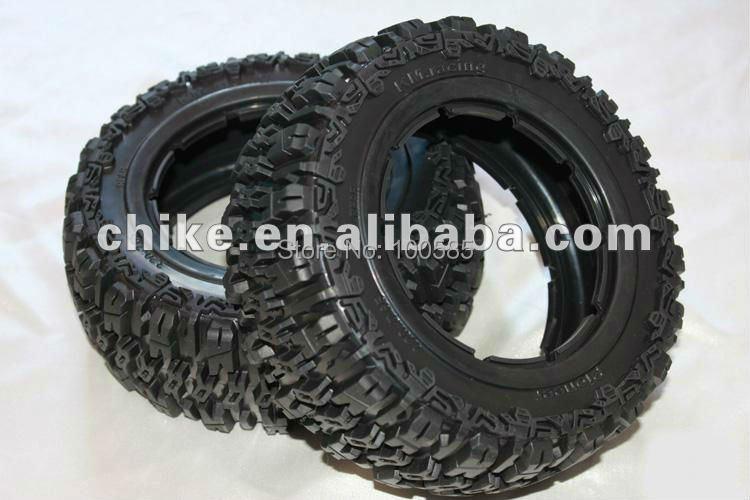 Бесплатная доставка-1/5 Baja 5T Baja T1000 Pioneer Tires x 2 шт.-задняя