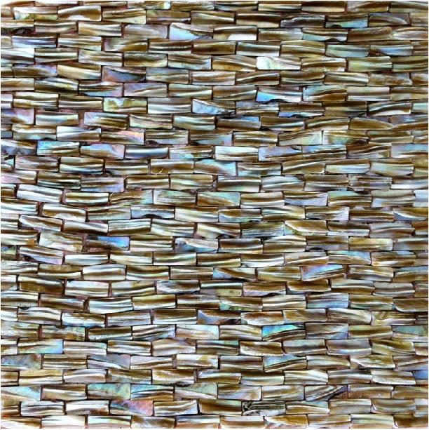 3d subway mother of pearl kitchen tiles backsplash Kitchen wall decor tiles