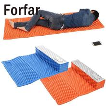 Forfar Picnic Mat Portable Outdoor Beach Mat Moistureproof Camping Mattress Sleeping Pad Folding Egg Slot Yoga Mat IXPE+EVA(China)