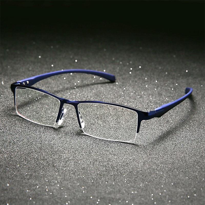 Image 3 - Оправа для очков из чистого титана, полная оправа для очков, мужские Оптические очки, оправа для очков, Дизайнерские Большие простые очки-in Мужские очки кадры from Аксессуары для одежды on AliExpress - 11.11_Double 11_Singles' Day