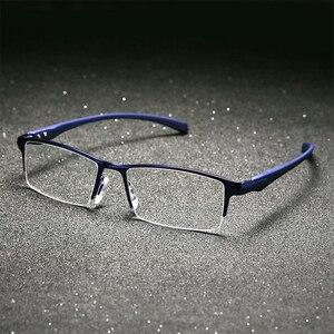 Image 3 - Оправа для очков из чистого титана, мужская оправа для очков, оправа для очков, большие простые дизайнерские оправы