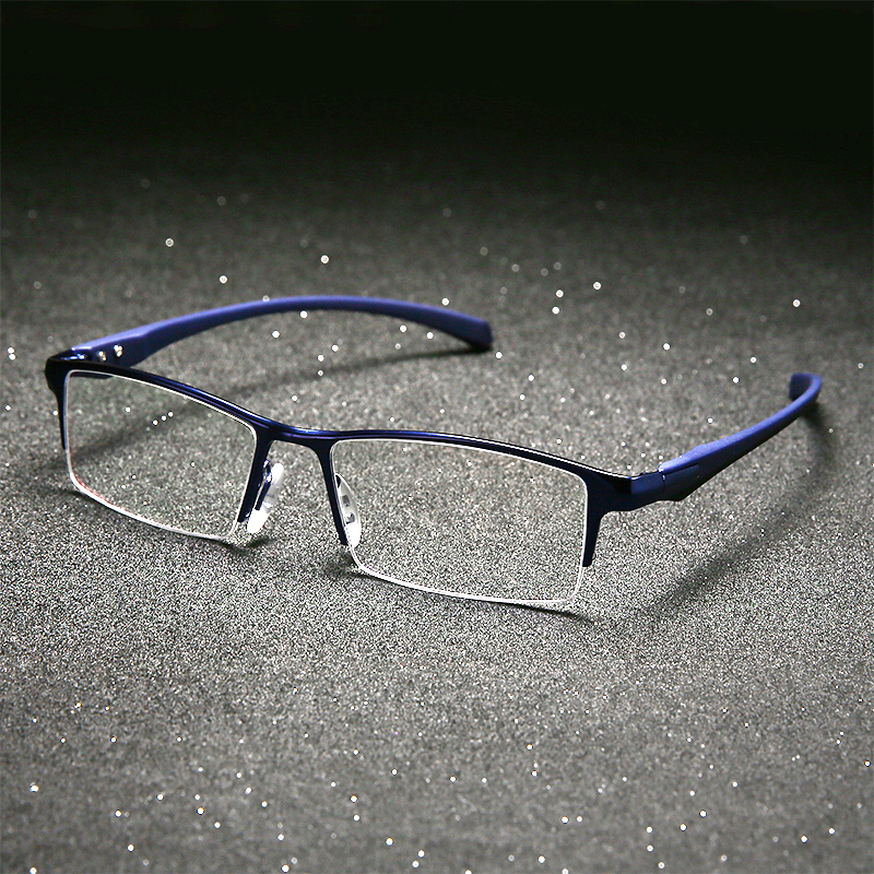 Image 3 - Pure titanium glasses frame full eyeglasses frame men optical glasses eyeware spectacle frames designs large plain-in Men's Eyewear Frames from Apparel Accessories