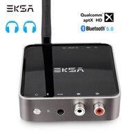 EKSA Bluetooth 5,0 передатчик приемник aptX HD беспроводной аудио адаптер оптический Toslink/3,5 мм AUX/SPDIF для телевизионные наушники Динамик