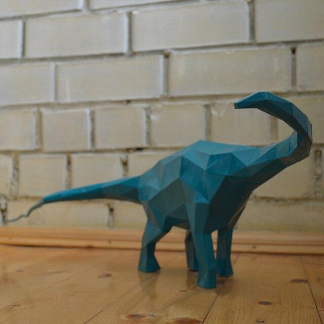 Diy Home Decoratie Diplodocus Dinosaurus Papier Puzzels Speelgoed