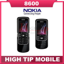 Unlocked Original Nokia 8600 Luna Mobile cell phone english russian keyboard&language Singapore post Free shipping