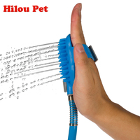 Pet Dog Cat Bathing Tool Friendly Massage For Dog Comfortable Shower Tool Cleaning Washing Bath Sprayers