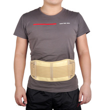 Lumbar Support Belt Adjustable Tourmaline Self heating Magnetic Therapy Lumbar Brace Belts Thermal Protection Double Banded