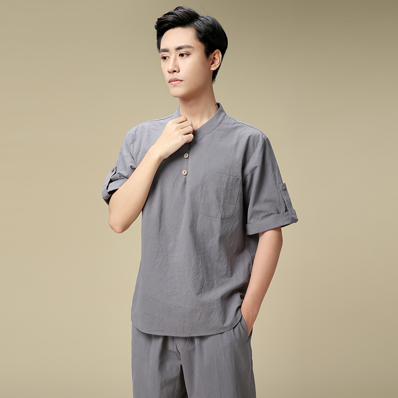 Male Health Preservation Hall SPA Technician Clothing Male Suits Jacket + Pants Autumn Winter Bath Foot Therapy Work Clothes