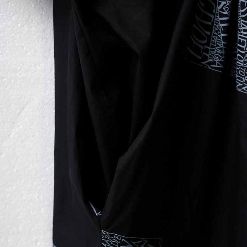 Q9170 芸術大サイズ印刷プリーツ純粋な綿のシャツドレス  グループ上の レディース衣服 からの ドレス の中 2