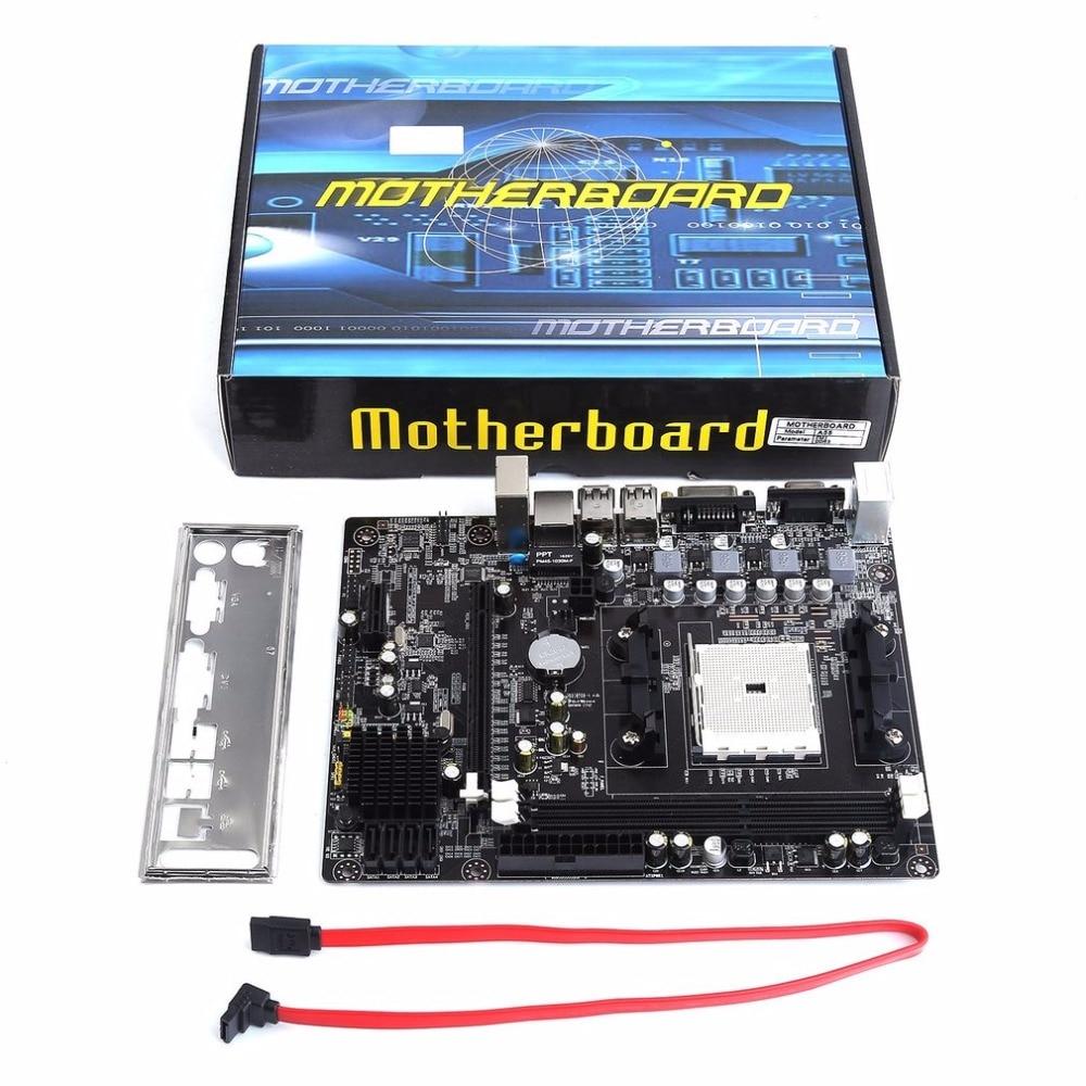A55 A55 Motherboard Desktop Suporta Para Gigabyte GA S3P A55-S3P DDR3 Gigabit Ethernet Soquete FM1 Mainboard Frete Grátis