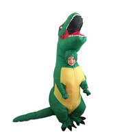 Kids Inflatable Costume Dinosaur Costume Dino Suit Cartoon Characters Fancy Dress T Rex Costume Blow Up