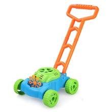 Push Car Bubble Maker Automatic Mower Outdoor Toy Walker Electric Soap Bubles Kids Machine Toys