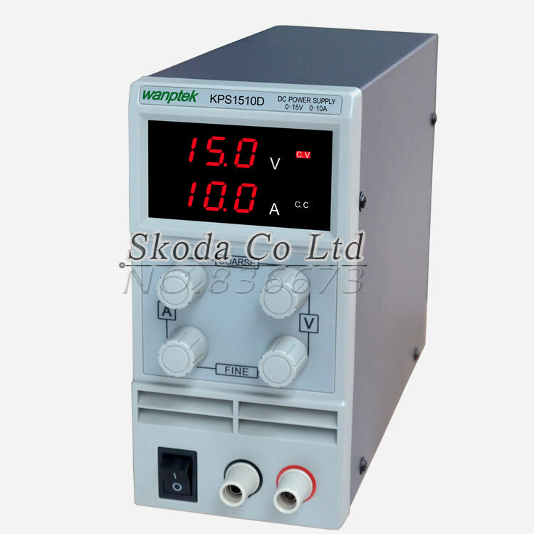 Wholesale KPS1510D 15V 10A digital adjustable Mini DC Power Supply Switch DC power supply 110/220V 0.1V 0.01A cps 6011 60v 11a digital adjustable dc power supply laboratory power supply cps6011
