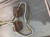 K0313 2019 luxury Runway sunglasses women brand designer sun glasses for women Carter glasses
