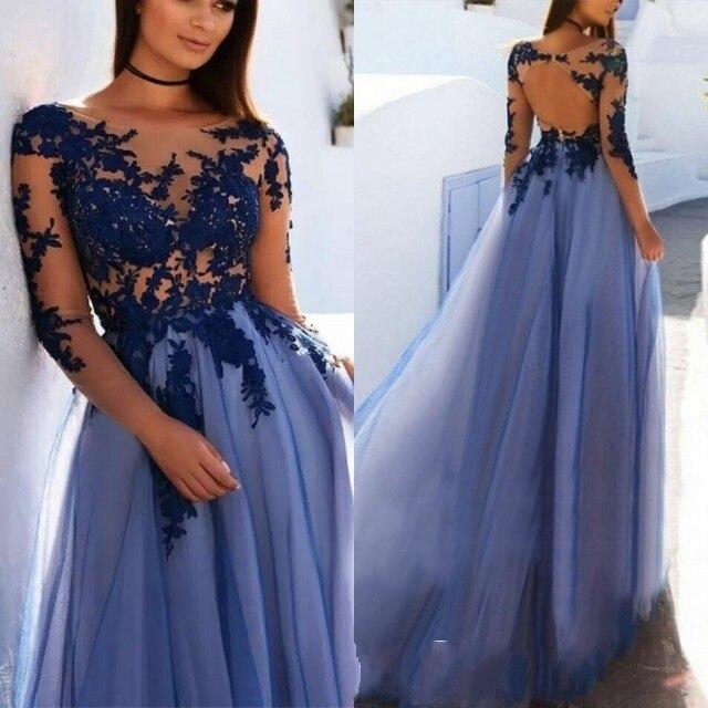 Vestidos de fiesta formal 2019