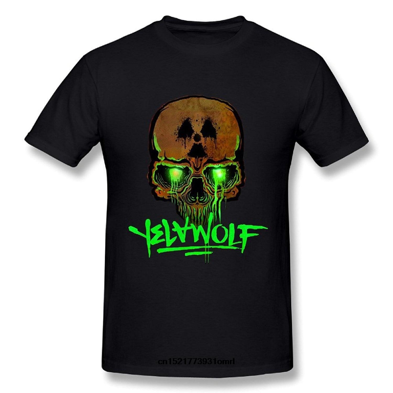79338dd2 Men T shirt Man's Skull Logo Of Yelawolf Fashion Soft T Shirts funny t-shirt