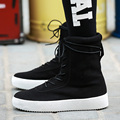 High Top Casual Zapatos Para Caminar Transpirable Suede Ankle Boots Superstar Zapatillas aumento plataforma botas Chelsea kanye west