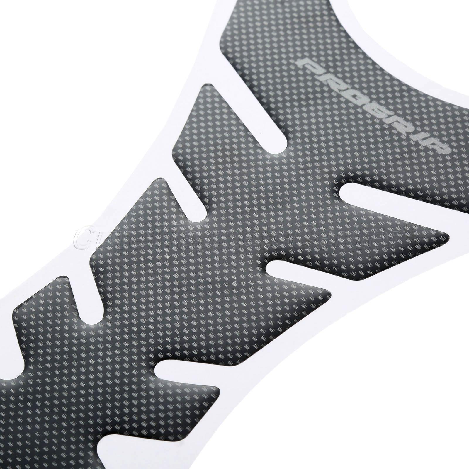 Motorcykel Universal 3D Carbon Fiber Gel Gas Bränsle Tank Pad - Motorcykel tillbehör och delar - Foto 6