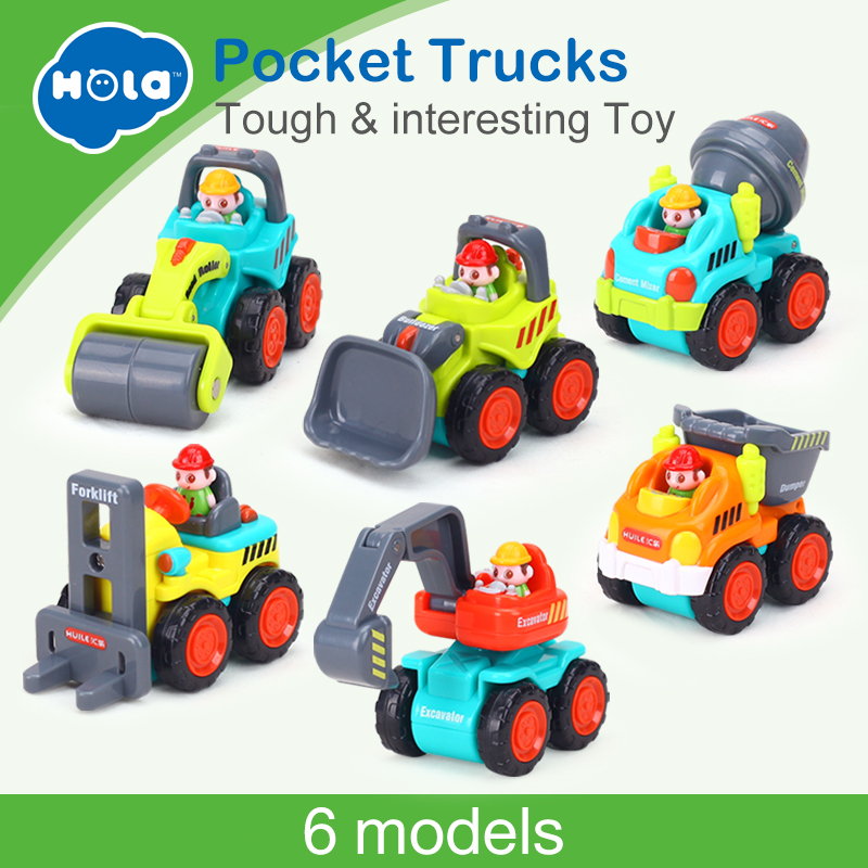 1PC Pull Back Car Toys Car Children Kids Racing Car Mini Cars Cartoon Pull Back Bus Truck Toys For Children Boy Gifts 1 piece monster truck inertia kids toy vehicles baby boys super cars pull back blaze truck children gift toys bus open the door