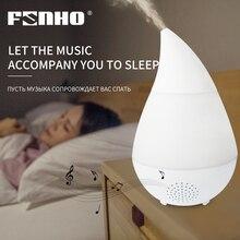 FUNHO Ultrasone Luchtbevochtiger Draadloze Bluetooth Muziek Aromatherapie Machine Cool Mist Maker 7 Kleurverandering Licht Home Office