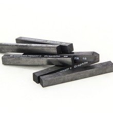 6 шт. сжатый графит эскизные палочки стержни карандаши провода 2B 4B 6B для офиса школы художника профессиональный набор для рисования