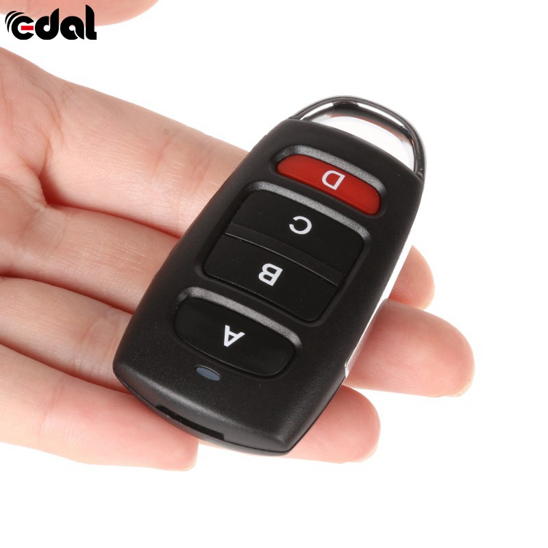 433MHZ:  433mhz Remote Control Metal Copy Universal Remote Control Learning Type 4 Buttons Wireless Remote Control For Gates k5 - Martin's & Co