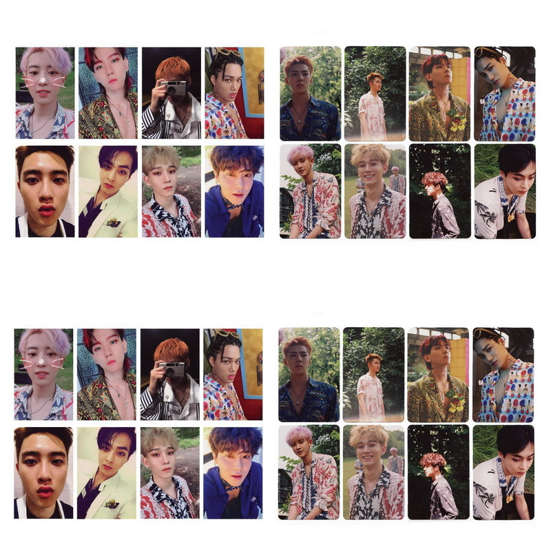 Jewelry Findings & Components Beads & Jewelry Making Alert 8pcs /set Kpop Exo Album The War Kokobop Self Made Paper Lomo Cards Photo Card Poster Hd Photocard