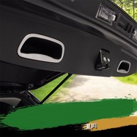 car accessories chromium parts trunk handle tail door decorative bright sequins frame FOR JEEP Cherokee