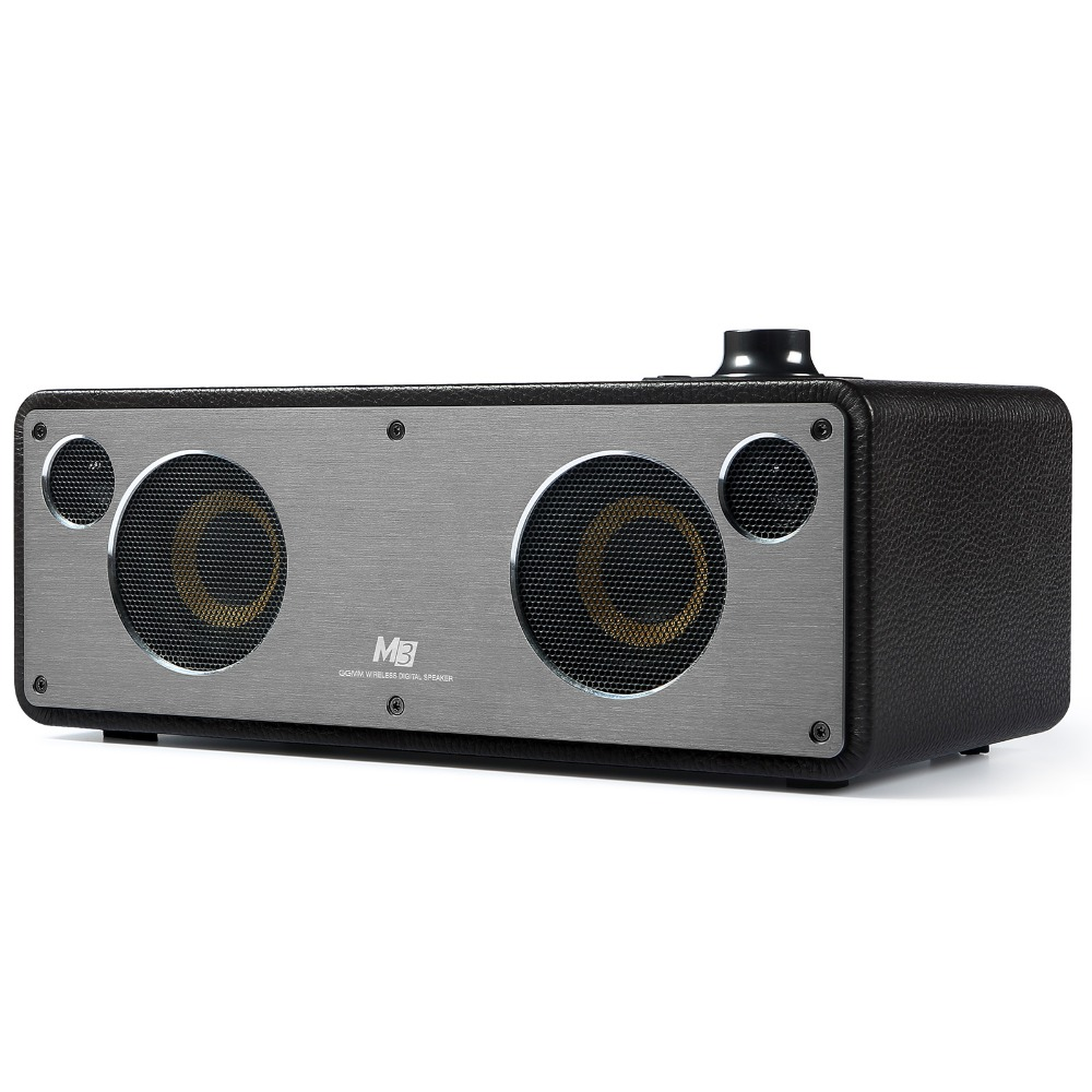 GGMM M3 Wireless Speaker WiFi Bluetooth Speaker Stereo Sound HiFi Audio Subwoofer Best Speaker Support Multiroom