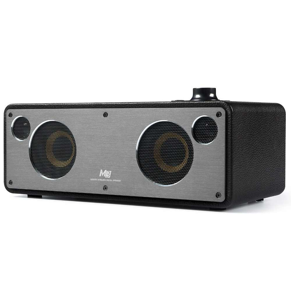 GGMM M3 Draadloze Speaker WiFi Bluetooth Speaker Stereo Sound HiFi Audio Subwoofer Beste Speaker Ondersteuning Multiroom DLNA Airplay