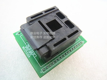 Clamshell ZY532A LQFP32 STM8 QFP32 IC Burning seat Adapter testing seat Test Socket test bench  in the stock