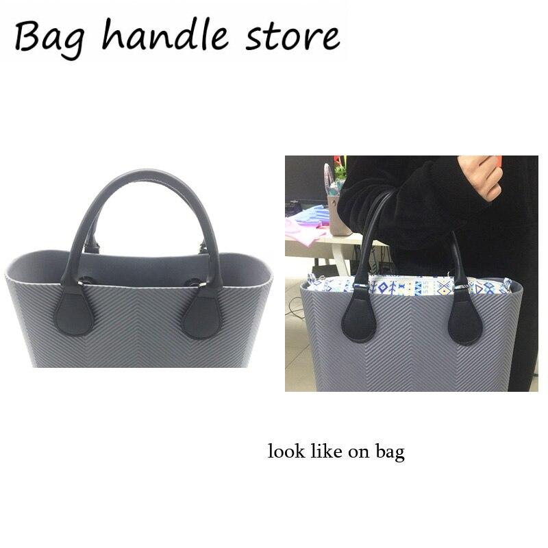 1 Pair 50 Cm Black Bag Handle For Obag Bag Tote