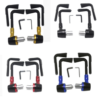 Newest 22mm 0 87 Adjustable Brake Clutch Levers Protector Brush Motorcycle Proguard System Guard CNC Protect