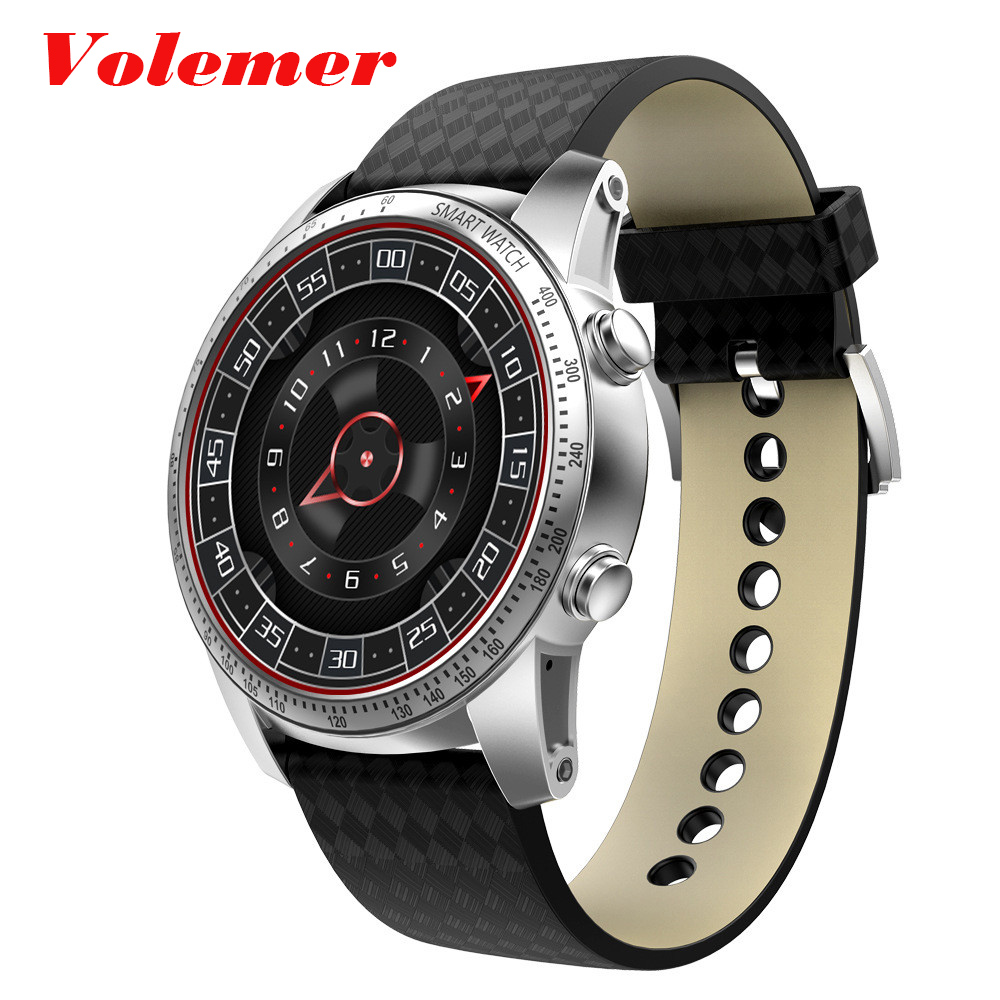Volemer KW99 Smart Watch Phone MTK6580 3G WIFI GPS Watch Men Heart Rate Monitoring Bluetooth Smartwatch Android Phone Smartwatch