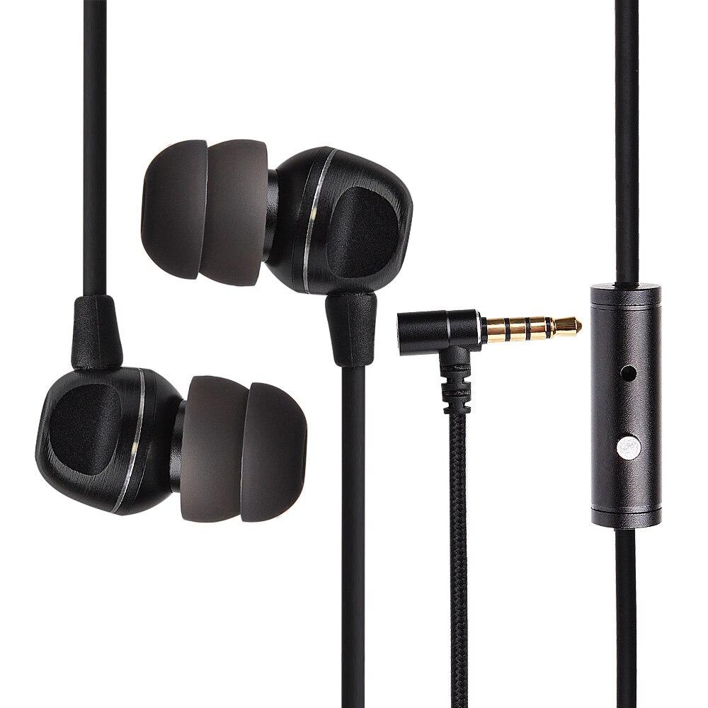 Original MEMT X5S en la oreja el auricular de 3,5mm estéreo en la oreja auriculares dinámico auriculares Hifi Bass auricular