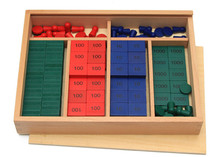 New Wooden Baby Toy International  Montessori Maths Teaching Aids Stamps Game Early Educational