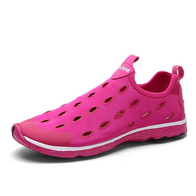 Fashion Women Casual Shoes 360 Degrees Breathable Slip on Shoes Super Light Cut Outs Unisex Shoes Plus Size