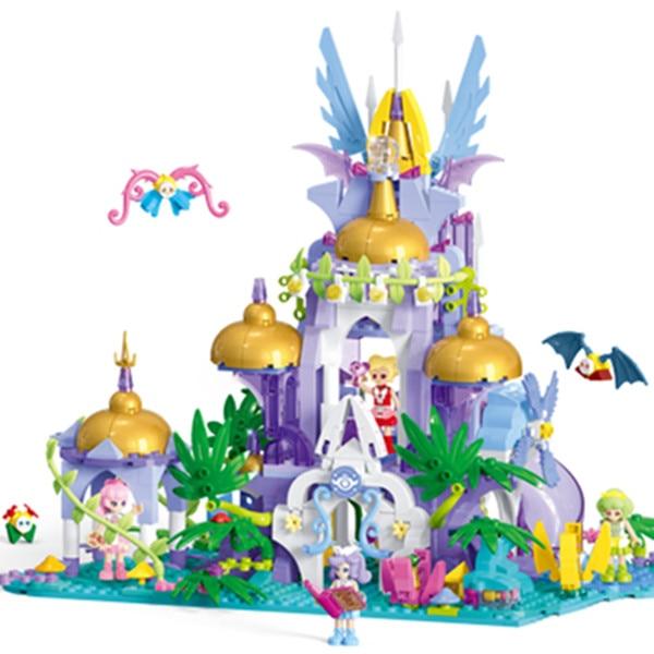Diy Girls House Magic Fairy Elf Kingdom Model Building Block Bricks Toys for Children Compatible With Legoingly for Girls Gifts magic kingdom magic kingdom savage requiem