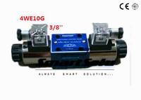 Rexroth Type 4WE10G 3 8 Hydraulic Directional Valves With Wet Pin AC 220V Solenoids 4 Actuator